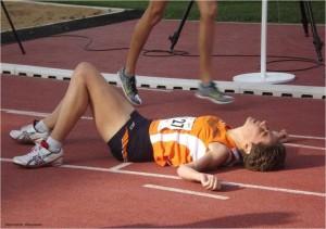 Manon Mensink tekent voor goud op de 800 meter (2:25:67) en de 1500 meter (4:56:88) tijdens de NL Indoor Masters in Apeldoorn. Ook wint zij goud op de 1500 meter tijdens de NK Masters in Zierikzee