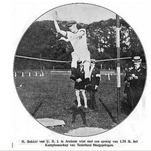 Herkomst foto De Revue der Sporten 11-8-1909.